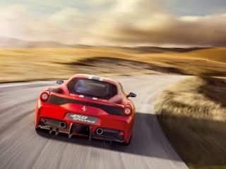 Ferrari 458 special – Posteriore