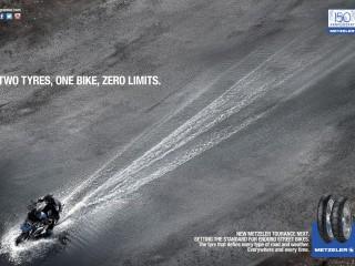 Two tyres, one bike, zero limits