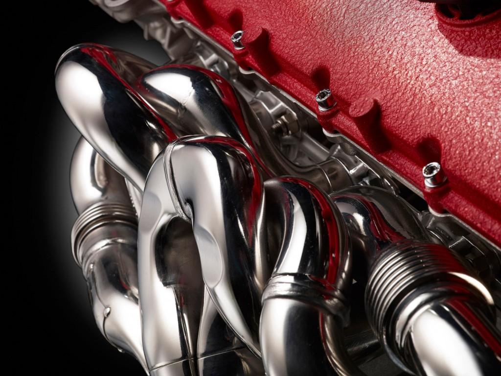 LaFerrari engine