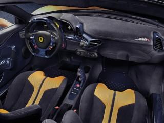 Ferrari SpecialeA interior