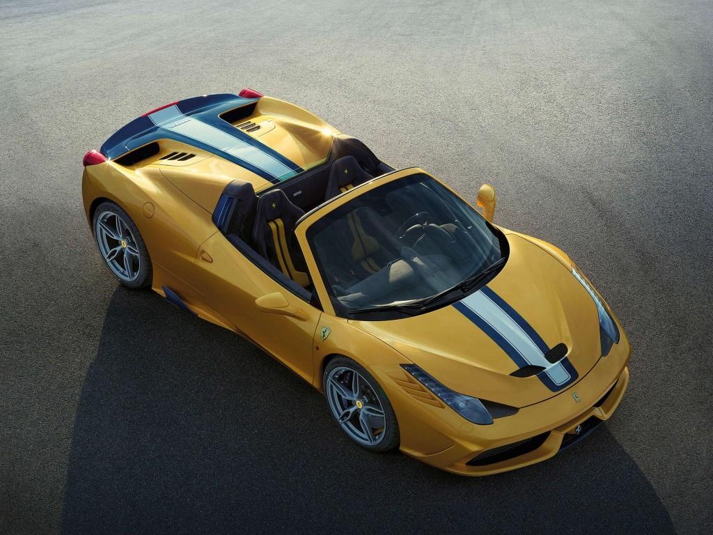 Ferrari SpecialeA high view