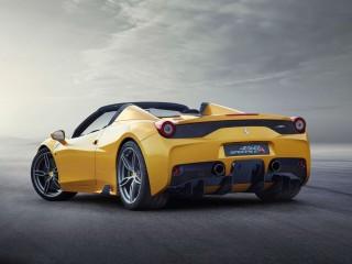 Ferrari SpecialeA rear