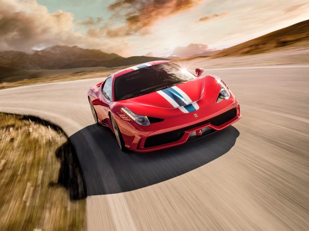 Ferrari Speciale drive