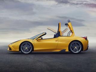 Ferrari Speciale A hard top